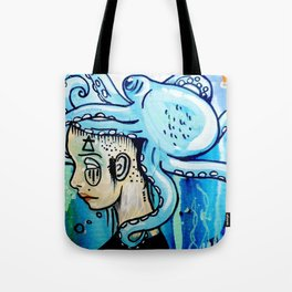 Water Element Tote Bag