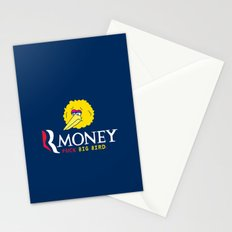 Romney VS Big Bird Stationery Cards