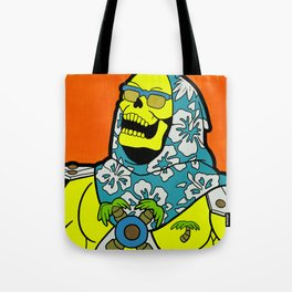 Sunset Over Castle Grayskull - MOTU pop art Tote Bag