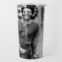 Bill Withers enhanced and grained old photo. For Jazz lovers. Travel Mug