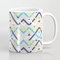 navy Mugs featuring Navy by La Señora