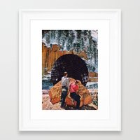 vertigo Framed Art Prints featuring Vertigo by Brandon Dail