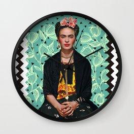 Lovely Frida Wall Clock