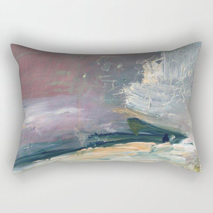 Deep Wave Rectangular Pillow