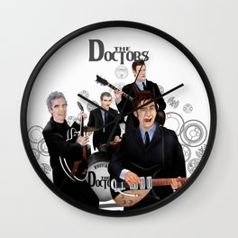 The Doctor who Renunion BAND iPhone 4 4s 5 5c 6 7, pillow case, mugs and tshirt Wall Clock