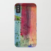 water color iPhone & iPod Cases featuring water color by Pao Designs