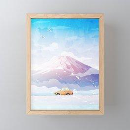 The last days of winter Framed Mini Art Print