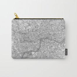 London Map Line Carry-All Pouch