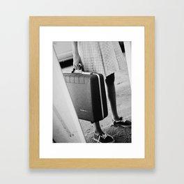when you run  Framed Art Print