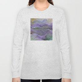 Purple Dreamscape Long Sleeve T-shirt