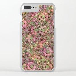 Beautiful Succulent Garden Clear iPhone Case