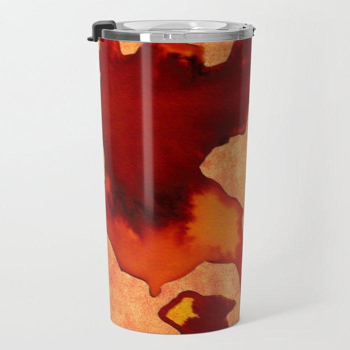 Stain Rorschach Travel Mug