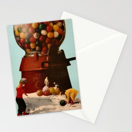 Gum Ball Fight Stationery Cards
