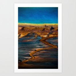 Earth in Full Color Art Print