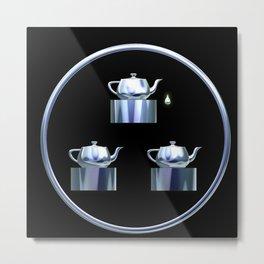 Tea for Three Metal Print