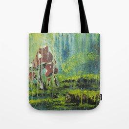 Mushroom Forest Floor Tote Bag