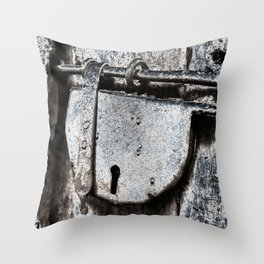 forever CLOSED Throw Pillow