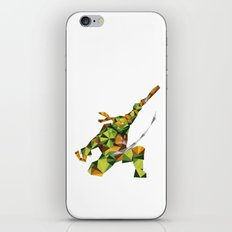 Nunchaku Turtle iPhone & iPod Skin