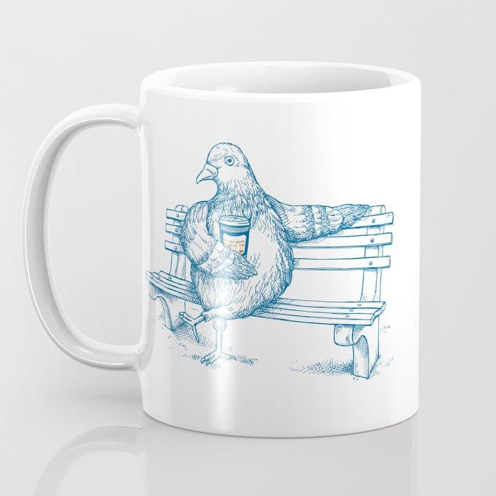 Cup O' Coffee NYC Style_pigeon Coffee Mug