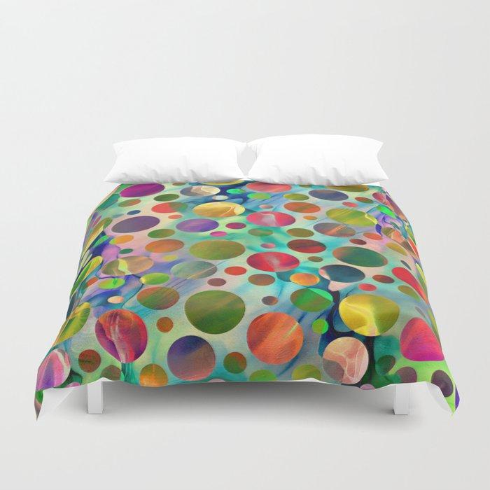 Joyful Dots Duvet Cover