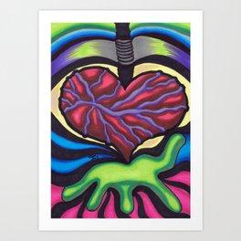 I Love You - Mazuir Ross Art Print