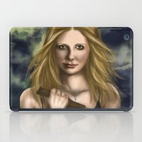 buffy iPad Cases featuring Buffy Summers by Jade Todd