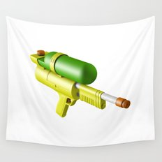 Water Gun Wall Tapestry