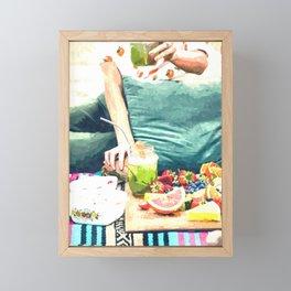 Picnic Day Framed Mini Art Print