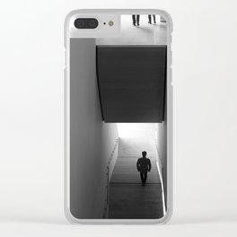 interstitial space Clear iPhone Case