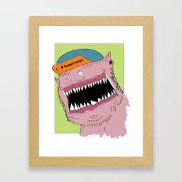 I Heart Ramptramps Framed Art Print