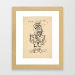 Ass (Esel) by Paul Klee, 1925 Framed Art Print