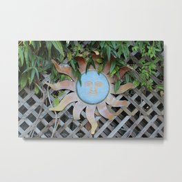 Blue Sun Metal Print