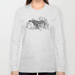 cool sketch 187 Long Sleeve T-shirt