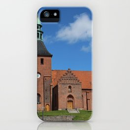 Vor Frue Kirke, Svendborg, Denmark iPhone Case