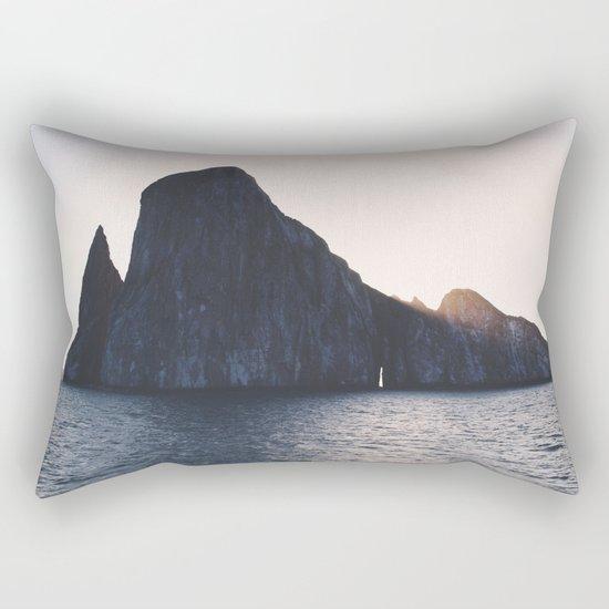 Kicker Rock, Galapagos Rectangular Pillow