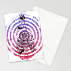 Skeleton Bullseye Stationery Cards