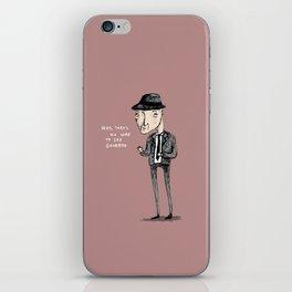 Leonard Cohen iPhone Skin