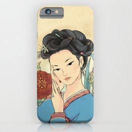 Minhwa: Korean Beauty (Korean traditional/folk art) iPhone Case