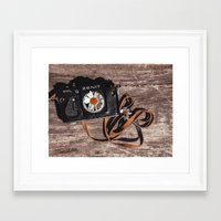 photographer Framed Art Prints featuring photographer by Olga FoxFang