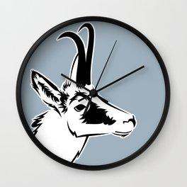 Wild goat Wall Clock
