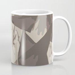 Modern Art Hills Trees Mountains Digital Art Landscape Nature Coffee Mug