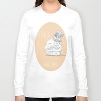 british Long Sleeve T-shirts featuring british muffin by G. Cicero