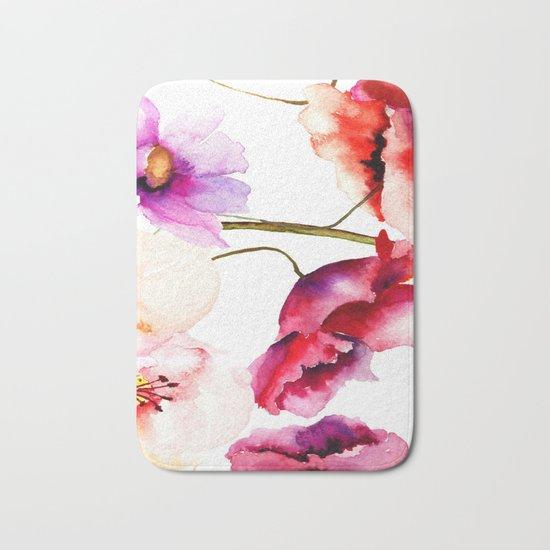 Flowers 02 Bath Mat