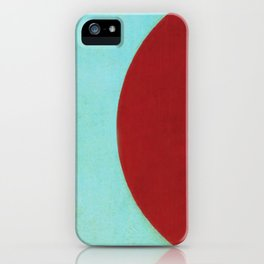 Waxing Gibbous iPhone Case