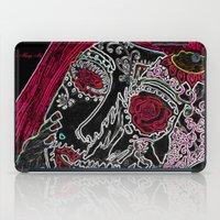 sugar skull iPad Cases featuring Sugar Skull by Classic Mixup Art
