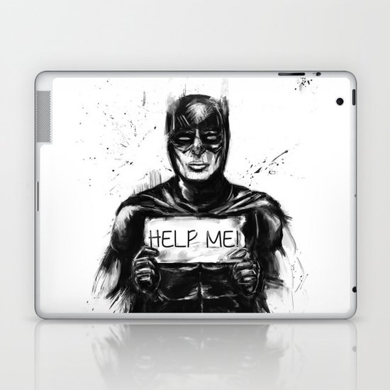 help me! Laptop & iPad Skin