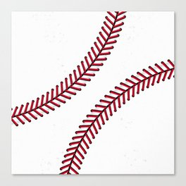 Fantasy Baseball Super Fan Home Run Canvas Print