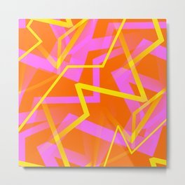 Calypso - Abstract Metal Print