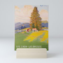 deko ste croix les rasses jura suisse ligne yverdon ste croix cff sbb Mini Art Print