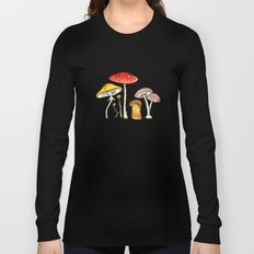 Woodland Mushrooms Long Sleeve T-shirt